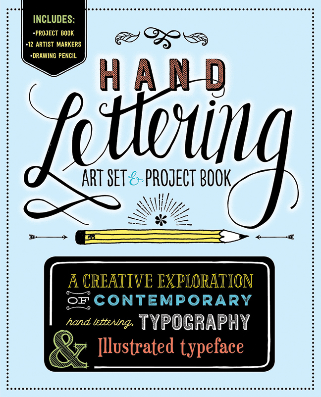 Ive Recently Become Interested In Hand Lettering So I Was Reading Published By Thunder Bay Press The Book Studies Several